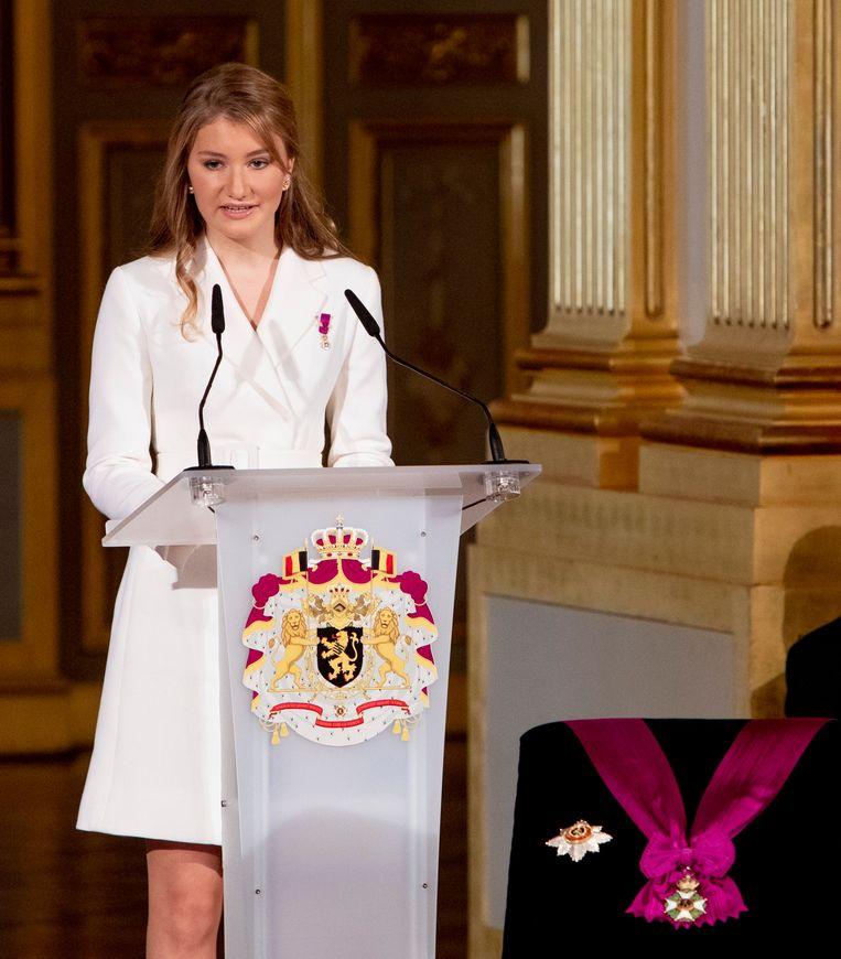 Prinses Elisabeth. Beeld Photo News