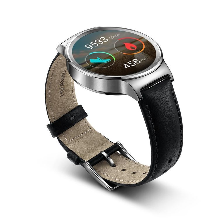 Het grijze horloge kost 349 dollar bij Amazon.