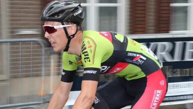 """Jens Vanoverberghe zet in laatste beloftenjaar alles op alles: """"Prof worden lijkt mij niet onmogelijk"""""""