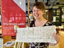 'Gouds verradersbrief uit 1574 is topstuk'