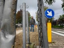Opluchting in Bomenbuurt: verkeer mag tijdelijk over calamiteitenroute brandweer