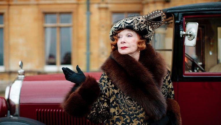 Shirley MacLaine in Downton Abbey als Martha Levinson. Beeld AP
