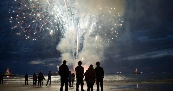 Vuurwerkfestival in Scheveningen afgelast door harde wind
