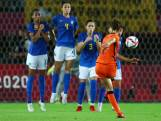 Doelpuntenspektakel tussen Leeuwinnen en Brazilië levert geen winnaar op