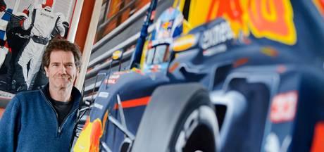 F1-kunstenaar Willem Lubach uit Hengelo kan niet om Max Verstappen heen
