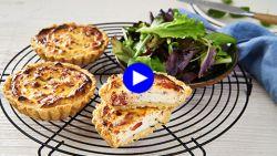 Lunchpakket deluxe: deze Italiaanse minitaartjes zijn makkelijk te maken én mee te nemen