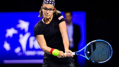 Kirsten Flipkens grijpt naast derde WTA-dubbelzege