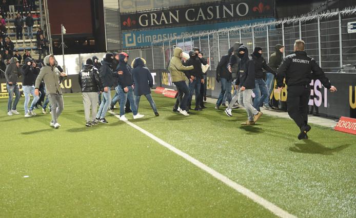 Rellen FC Den Bosch - FC Twente op 9 november 2018.