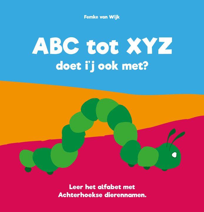 De cover van het Achterhoekse dieren-abc: ABC tot XYZ. Doet i-j ook  met?.