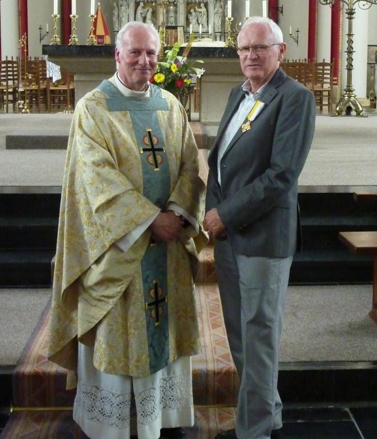 pauselijke onderscheiding Harry Elfrink