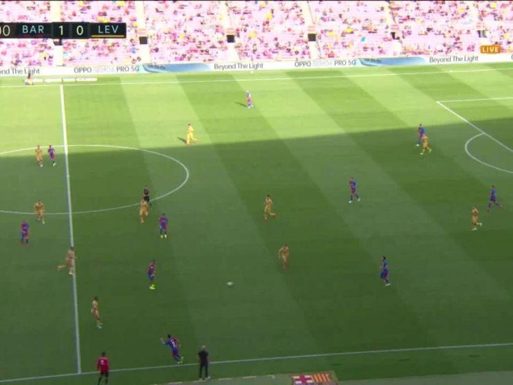 Luuk de Jong scoort eerste doelpunt voor FC Barcelona