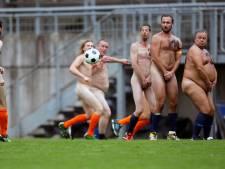 En Allemagne, des footballeurs ont joué cul-nu pour protester contre le Mondial au Qatar