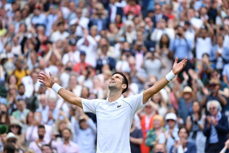 Novak Djokovic. Beeld Photo News