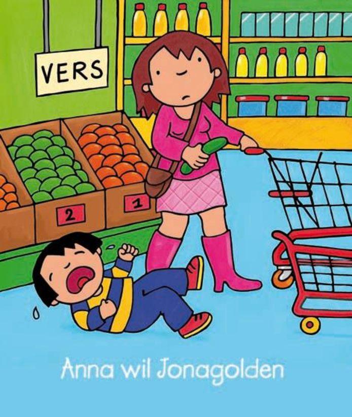 Illustratrice Kathleen Amant vond inspiratie bij de 'Jonagold'-hetze in Aldi.
