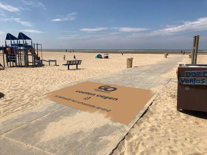 Ouddorp heeft het schoonste strand van Zuid-Holland.