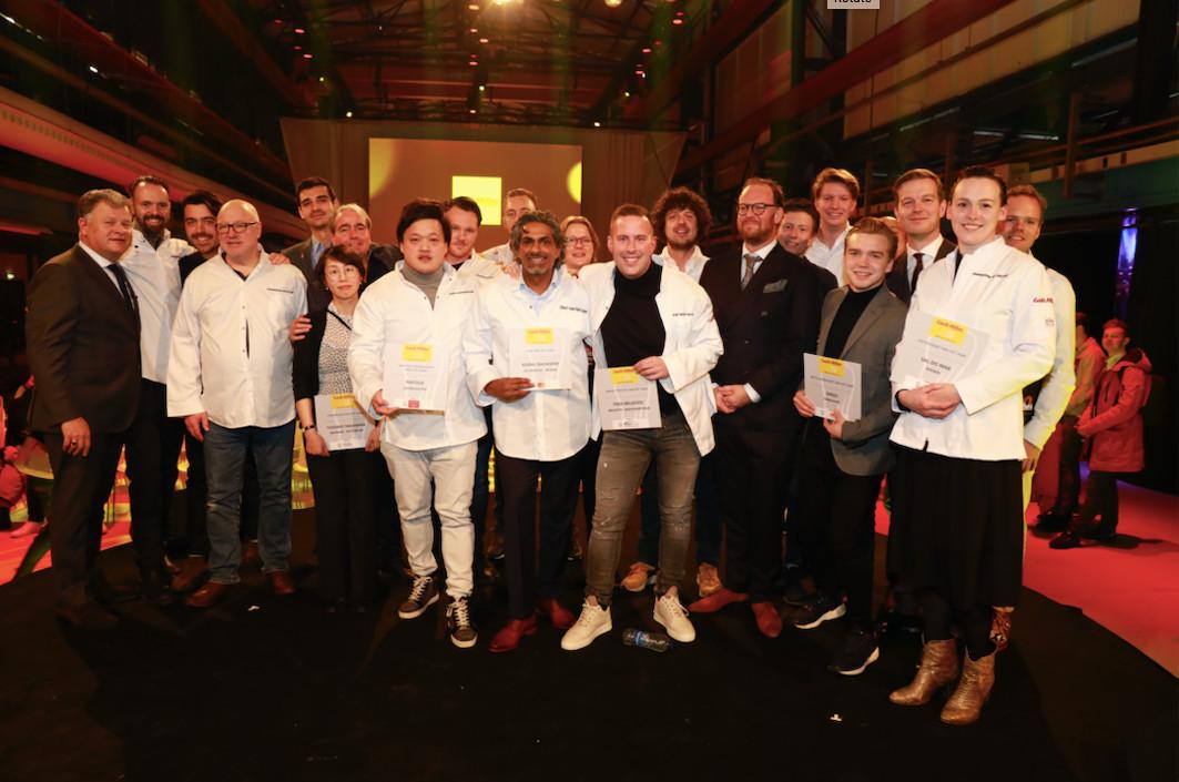 De winnaars van de awards van Gault & Millau.