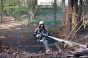 René als brandweerman.