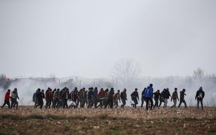 Opnieuw rellen aan Grieks-Turkse grens.