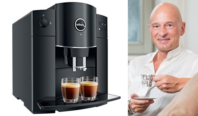 Links: Jura D4 Piano Black   Koffiekenner Peter Hernou legt uit waarop je moet letten bij de aankoop van een espressomachine.