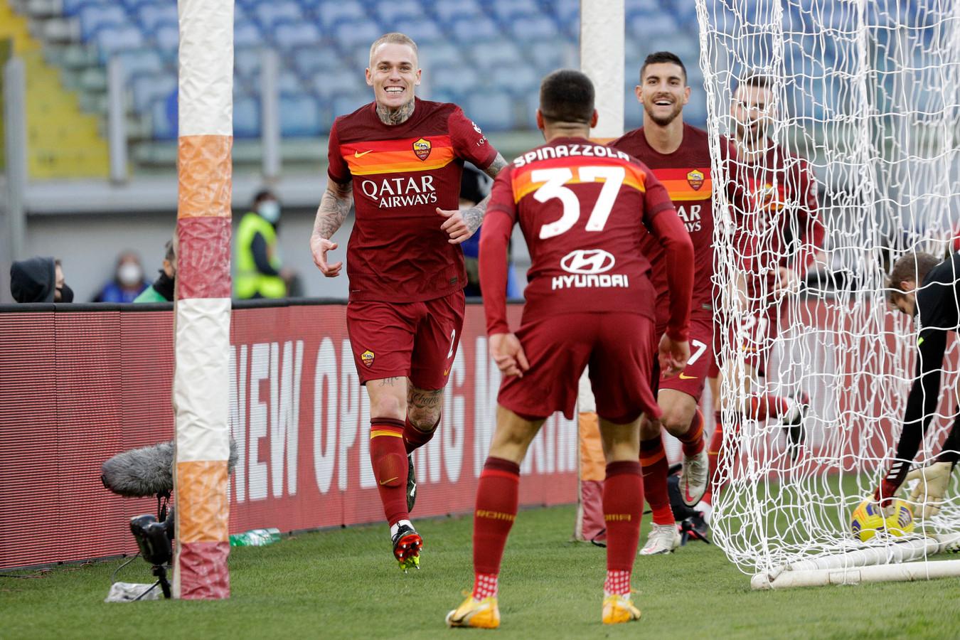 Rick Karsdorp was dit seizoen in 30 wedstrijden voor AS Roma al goed voor een goal en vijf assists.