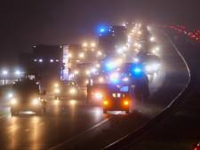 Ongeluk op de A30 bij Barneveld; één gewonde