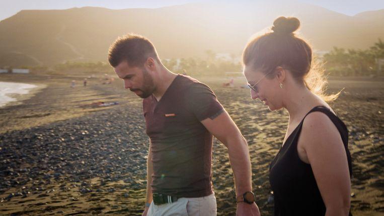 Mike en Marjolein op huwelijkreis.