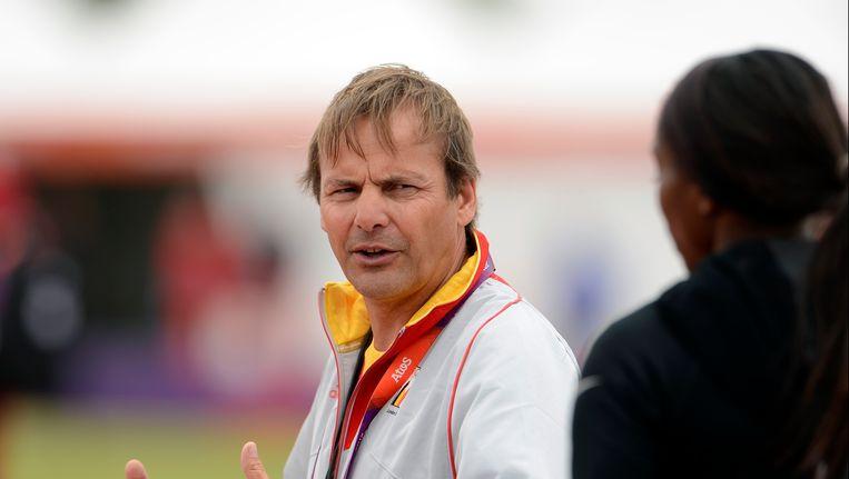 Rudi Diels, hoofdcoach van de Belgische bobsleedames. Beeld PHOTO_NEWS