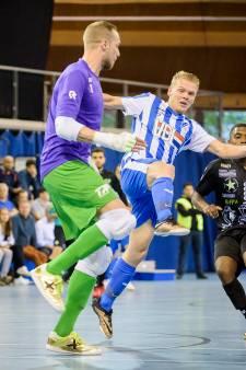 Zaalvoetballers FC Eindhoven blijven behouden voor eredivisie
