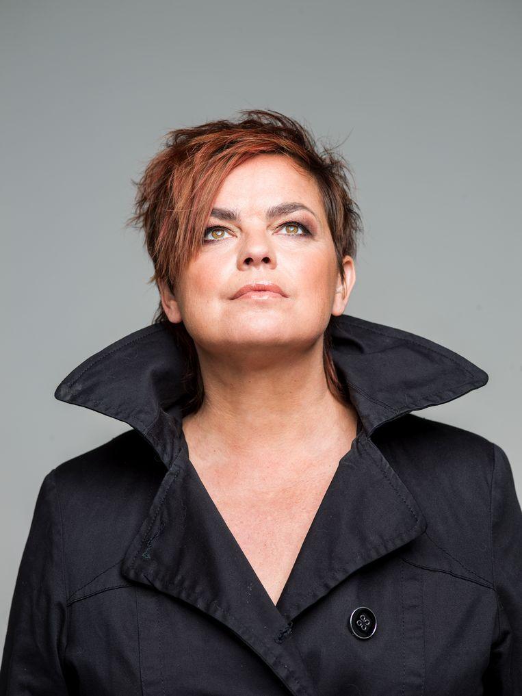 Deborah Ostrega: 'Als mannen over seks praatten, passeerde dat gewoon. Als een vrouw dat deed, maakten ze er een ding van.' Beeld Johan Jacobs