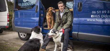 Oldenzaler Chiel Segerink volgt met HUS zijn hart: 'Een hond is als een kind'