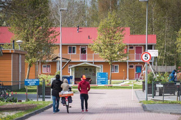 Een Asielzoekerscentrum aan de Hooiweg in Oude Pekela. Foto ter illustratie.