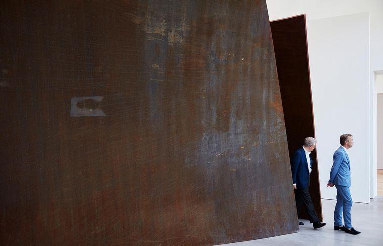 Open Ended van Richard Serra, één van de twaalf tips uit de collectie van Museum Voorlinden Beeld Erik Smits