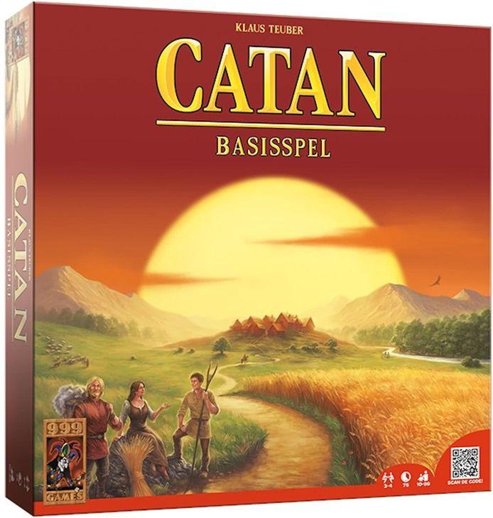 Het bordspel Catan, na de naamswijziging door uitgever 999 Games.