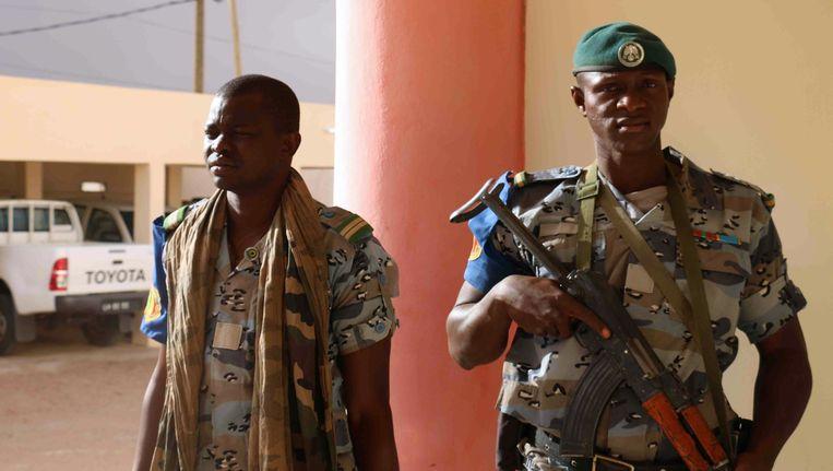 Soldaten in Mali. Beeld AFP