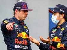 Hamilton heeft ineens Verstappen én Pérez in zijn nek: 'Het gaat echt om millimeters nu'