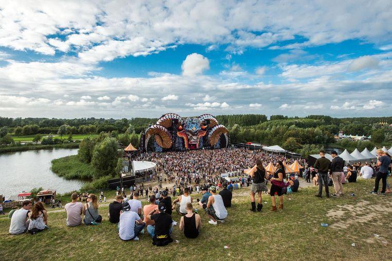 Mysteryland is met 55.000 bezoekers het grootste festival van Nederland. Beeld anp