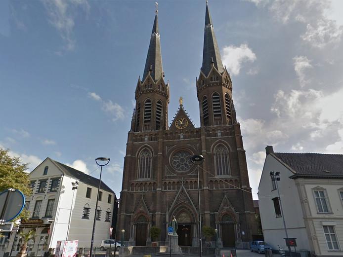 De Sint-Jozefkerk op de Heuvel in Tilburg.