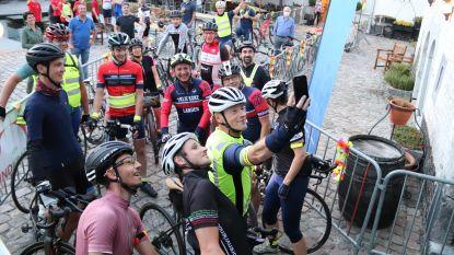 """Vzw Bindkracht zamelt 66.400 euro in op 24 uur tijd: """"Dankzij fietsende BV's en sympathisanten"""""""