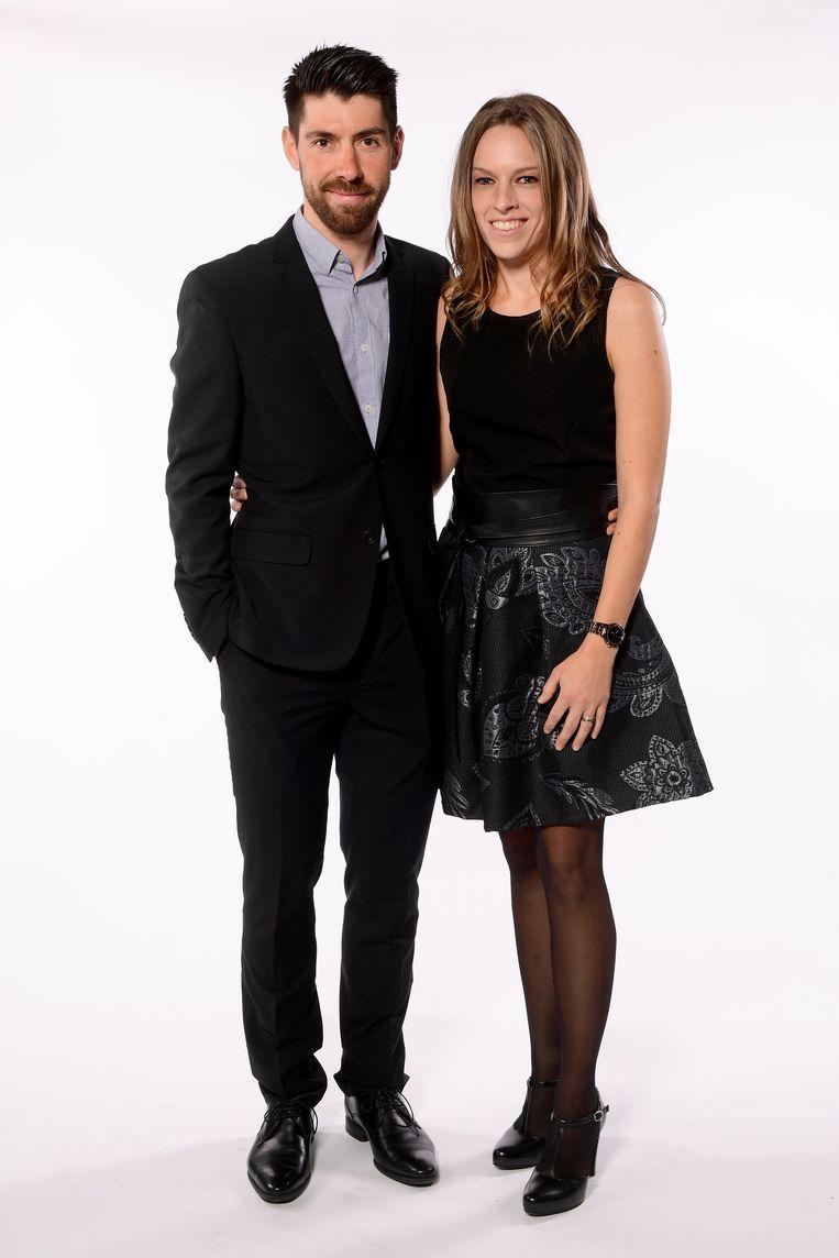 Thomas De Gendt & Evelyn Tuytens.