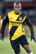 Amoah in het shirt van NAC, seizoen 2010/11.