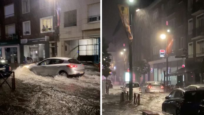 """Un orage """"diluvien"""" a provoqué d'importants dégâts à Beauvais dans la nuit de lundi à mardi."""