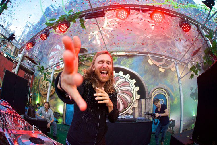 David Guetta vorig jaar op Tomorrowland. Beeld PHOTO_NEWS