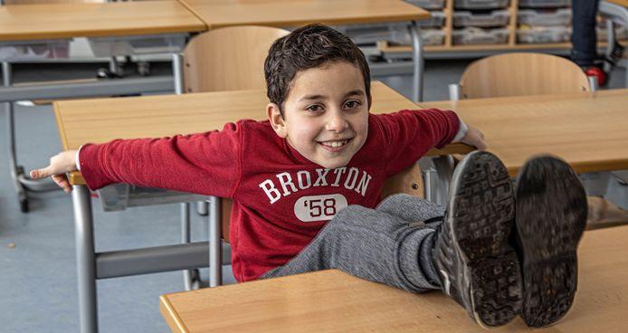 De 7-jarige Kadir Akseki uit Zwolle speelt een hoofdrol in de nieuwe, 10-delige kinderserie Kabam!, die op NPO3 verschijnt.