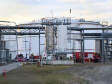 Lek in container met giftige stof bij Oiltanking in Terneuzen