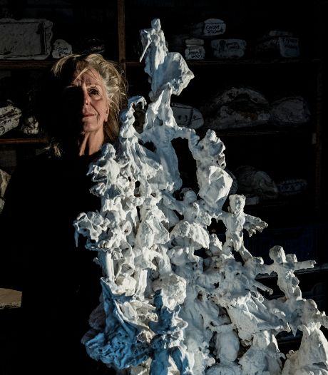 Kunst maken in coronatijd, wat doet dat met een kunstenaar: expositie in Tiel