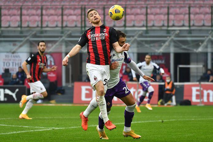 Pour le retour d'Alexis Saelemaekers, l'AC Milan n'a pas tremblé et conforte sa première place.