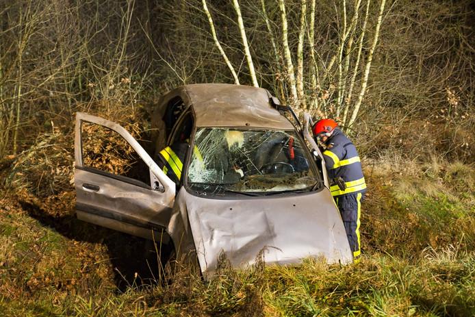 Vier gewonden bij ongeval A27.