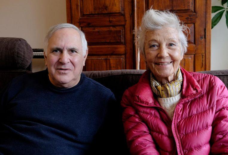 Marc H. Miller en Bettie Ringma Beeld