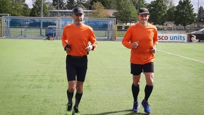 """Voor scheidsrechters Guido Verheyen en Joël Bollen was de pandemie geen reden om uit te rusten: """"We legden meer kilometers af dan ooit"""""""