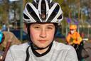 Ook Hanna Hessels is van de partij. 'Of ik blijf wielrennen weet ik nog niet.'